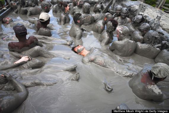Take A Dunk In El Totumo Colombias Magical Mud Volcano