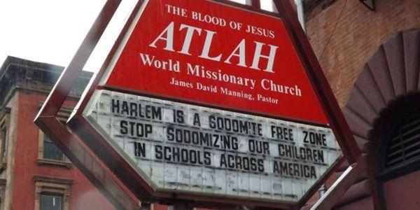 Atlah Missionary Church Anti-gay Harlem Posts