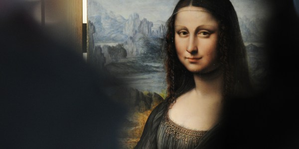 'mona Lisa' Part Of History' 3d