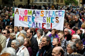 Image result for Church of Englandvotes to allowwomen to become priests