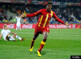 Asamoah Gyan Goal Video Ghana Usa
