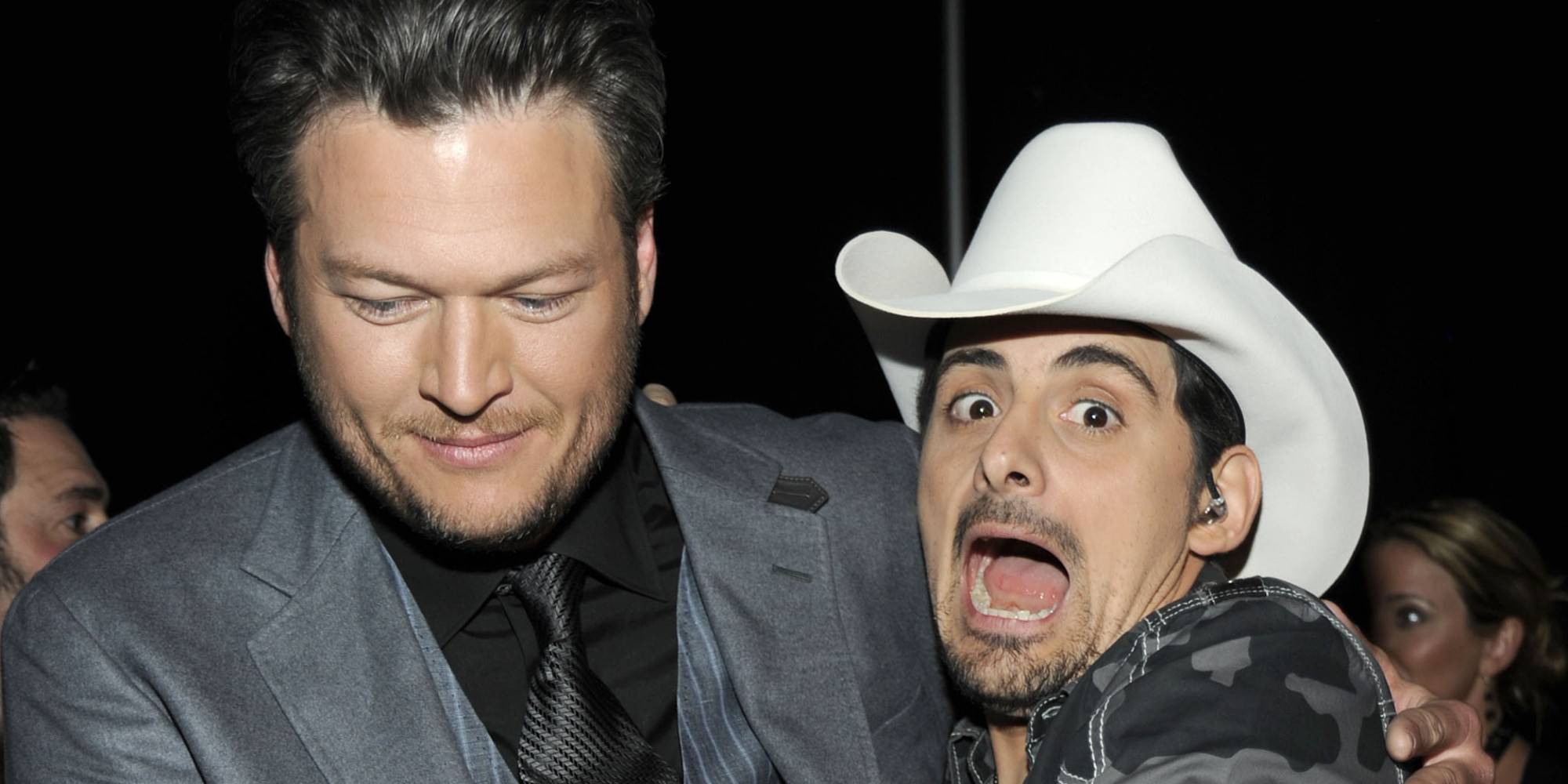 Why Brad Paisley Wants To Knee Blake Shelton In The Nuts