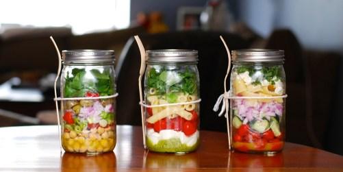 Make Mason Jar Salad