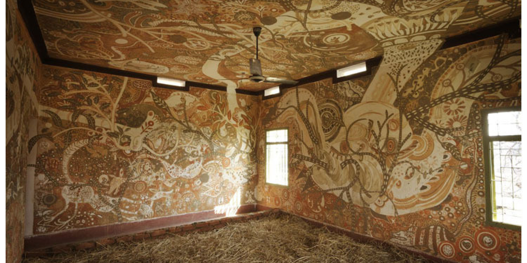 This Sprawling Mud Mural Is Helping Change The Lives Of