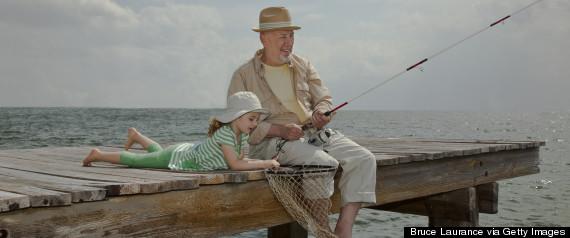 grandpa fishing