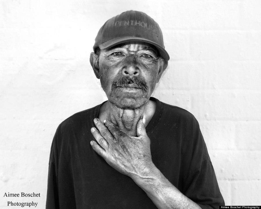 homeless portrait one