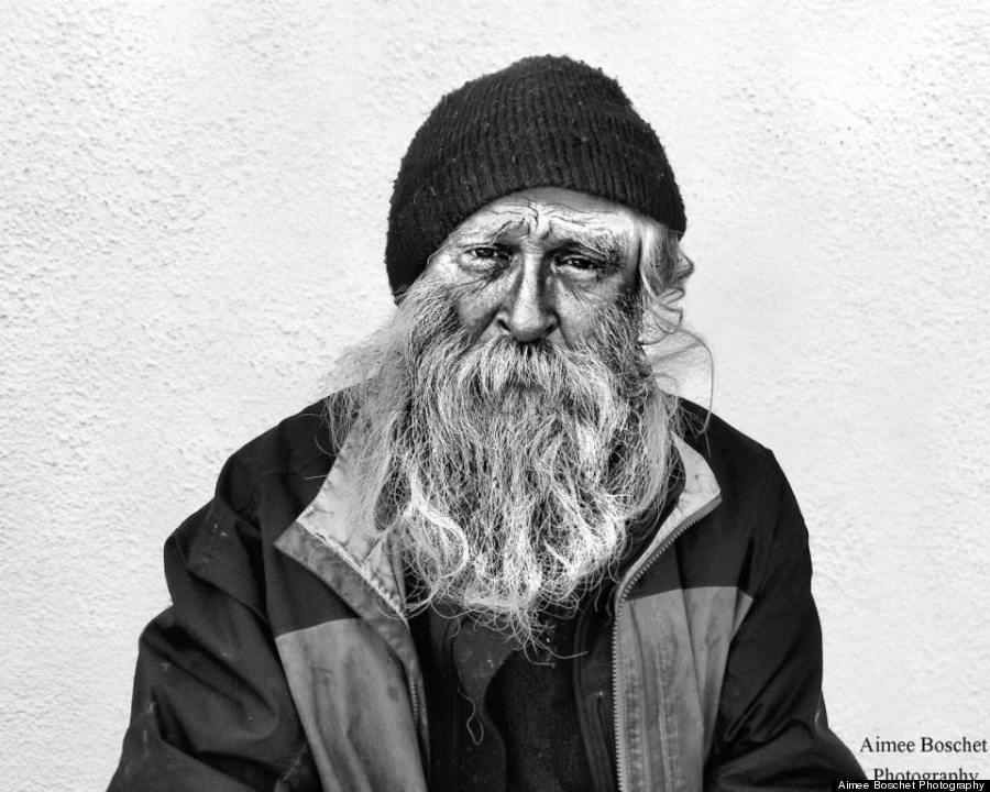 homeless portraits seven