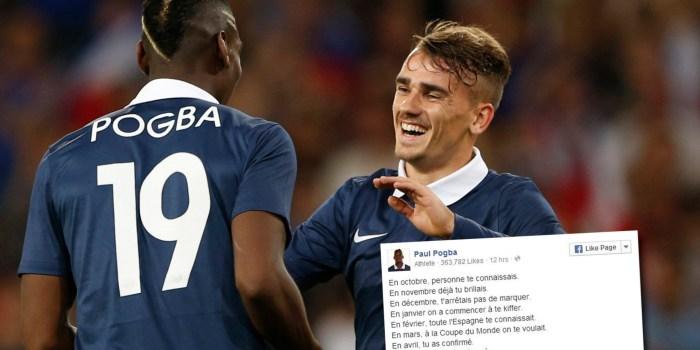 """[Declaraciones] El """"cholo"""" Simeone abre la puerta a Paul Pogba 1"""
