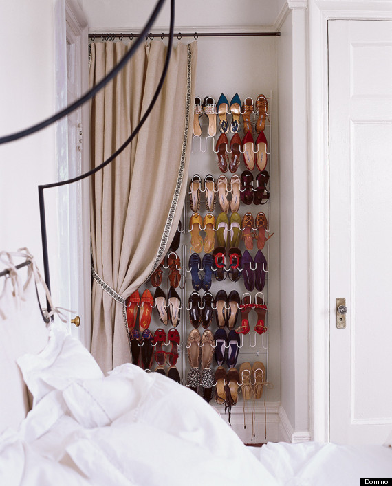 6 Ways To Store Your Stuff When There's Not Enough Closet Space