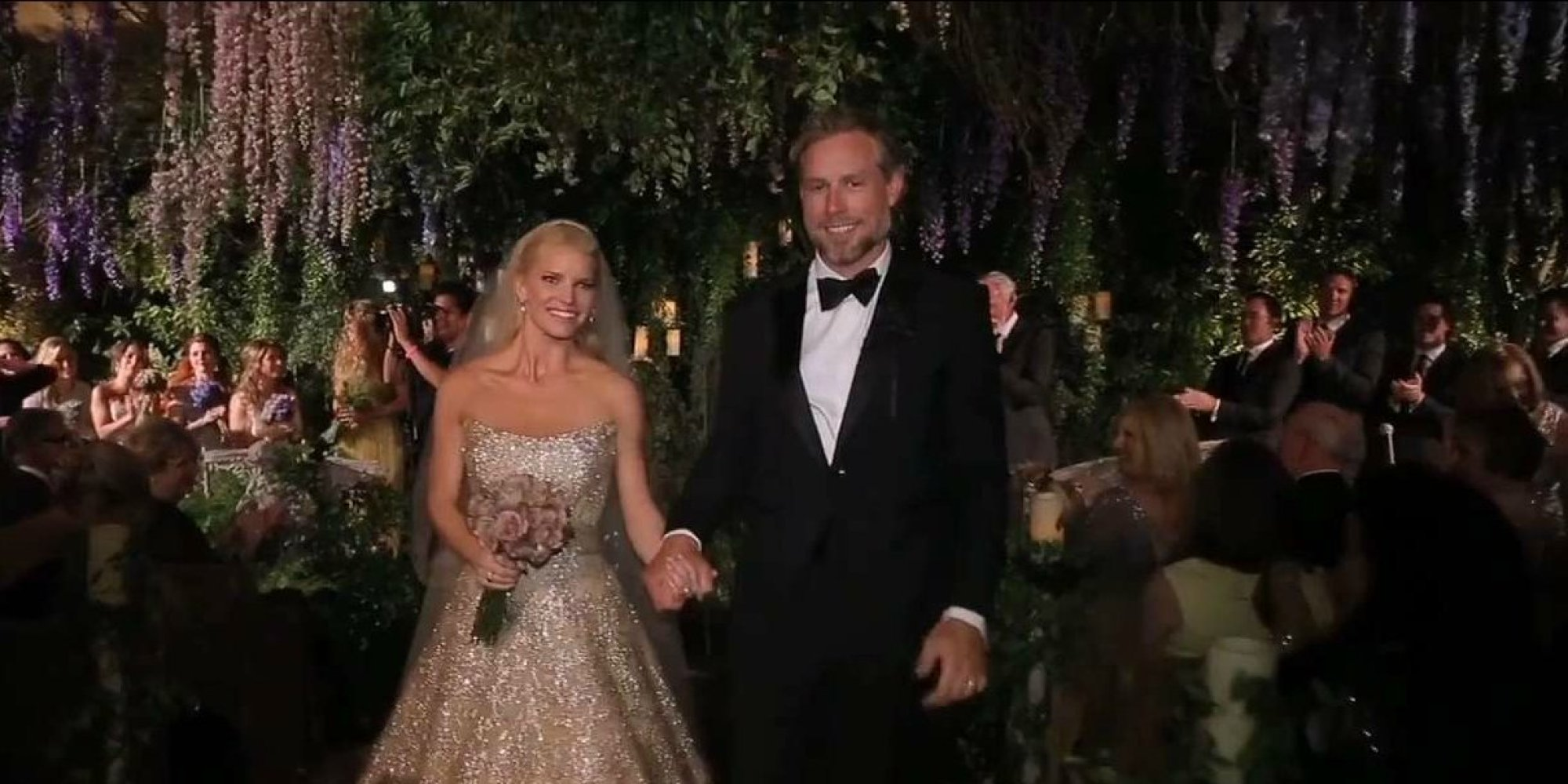 Jessica Simpsons Wedding Video Has Arrived And Its As Amazing As You Expected It To Be  HuffPost