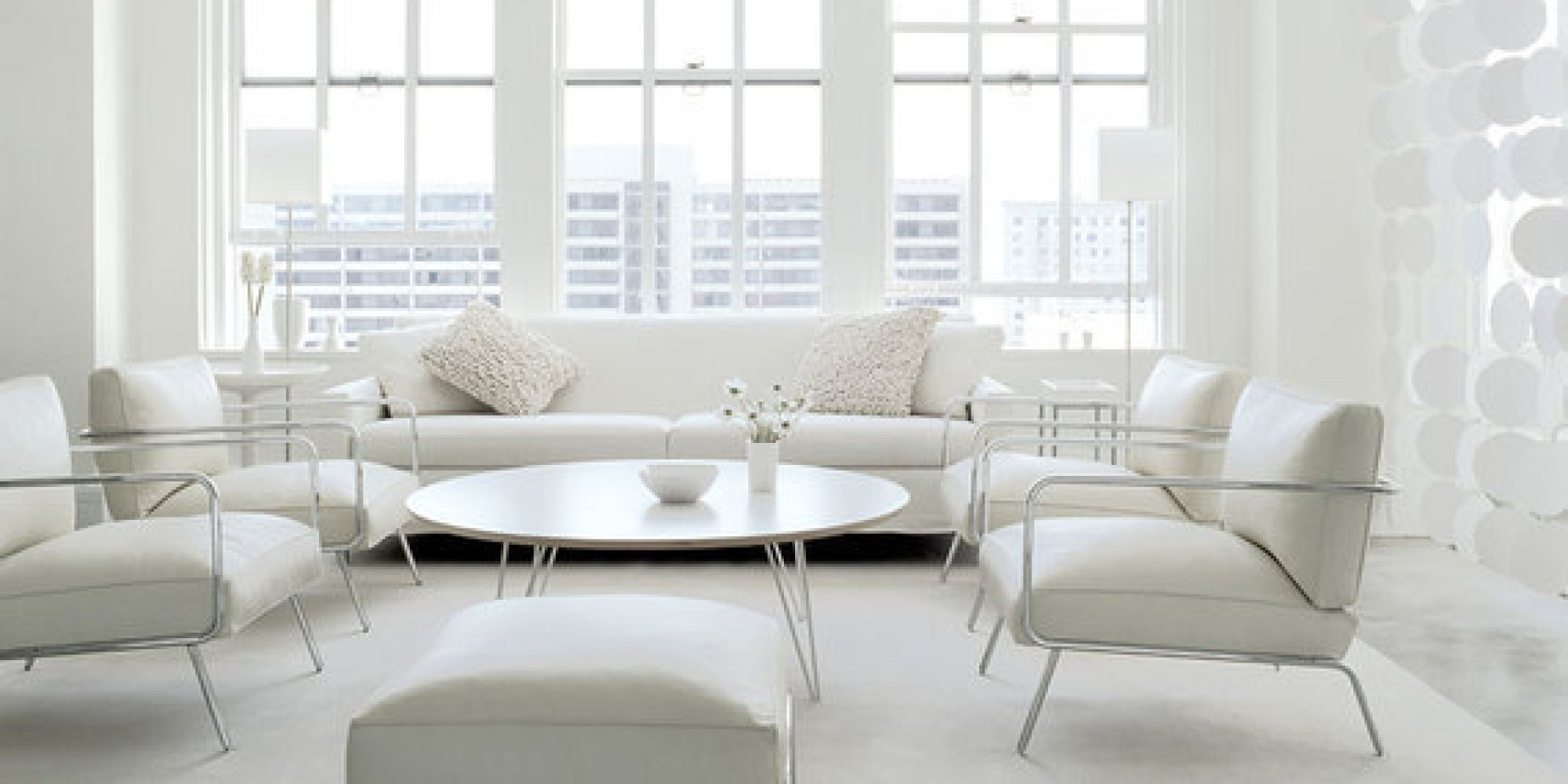 7 All White Interiors that Deliver a Fresh Look  HuffPost