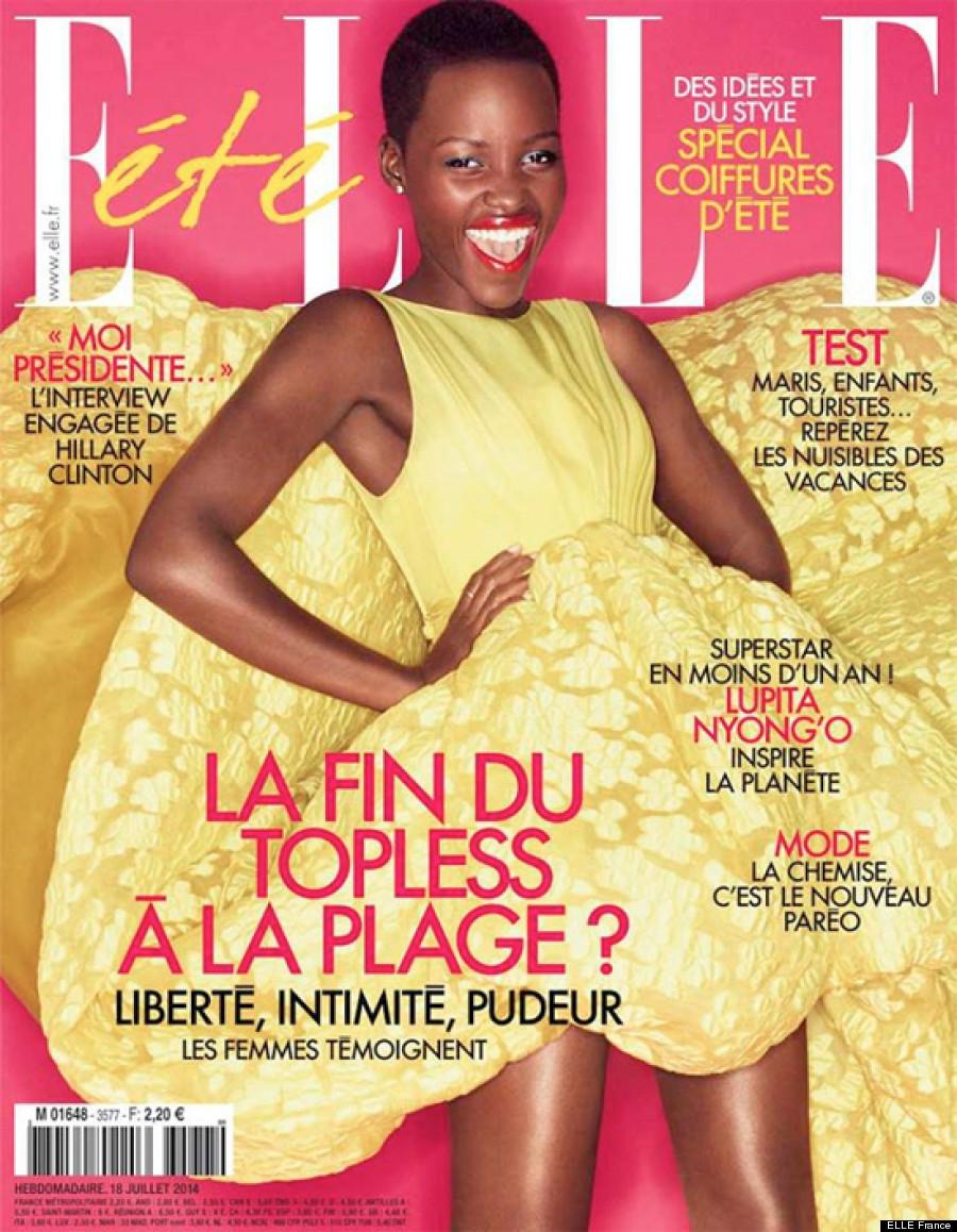 Lupita Nyongo ELLE Frances Latest Summer Cover Girl