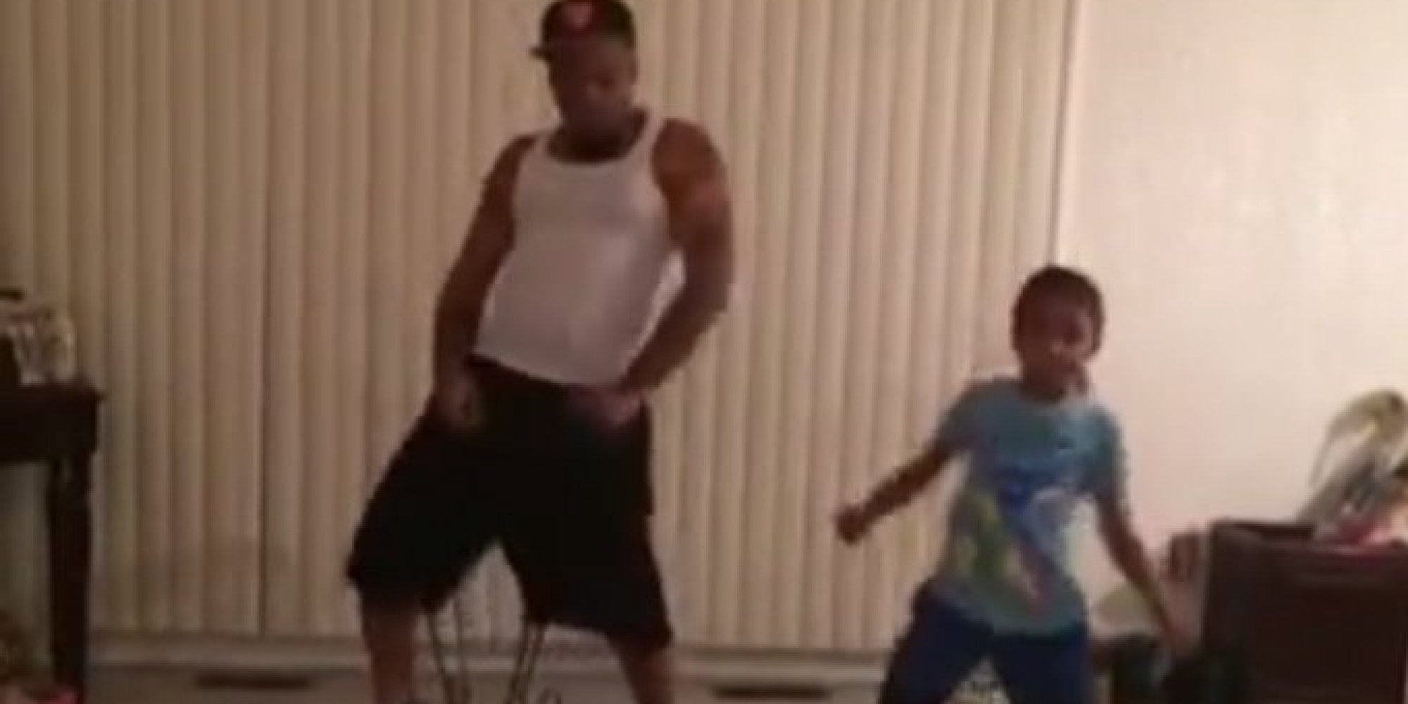 Dad And Daughter Perform Insanely Cool Dance Routine To Ariana Grandes Problem  HuffPost