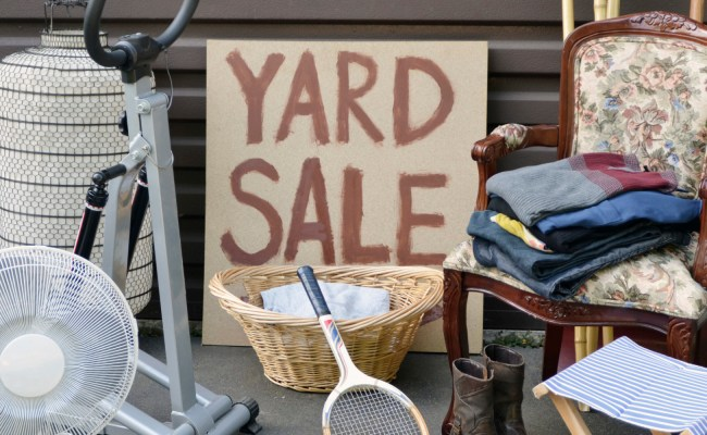 11 Things No One Will Buy At Your Yard Sale Huffpost