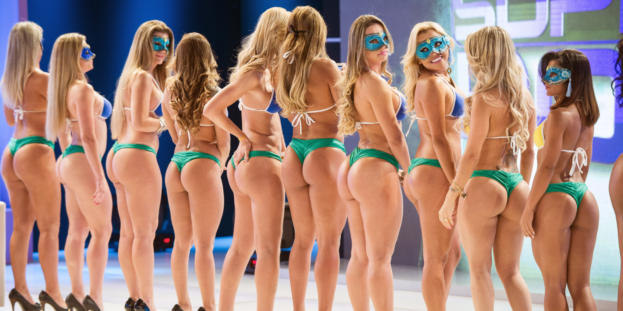 Miss Bumbum 2014 Contestants Hope To Have Brazils Best Butt  HuffPost