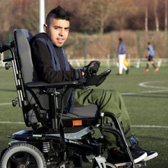 Wheelchair Man Wholesale Spandex Chair Covers Manchester United Appoint Sohail Rehman As