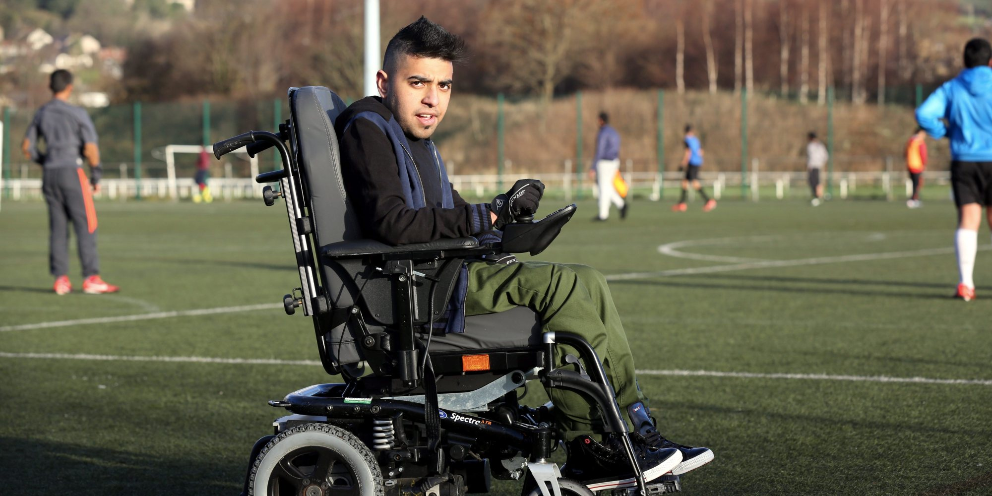 wheelchair man leather rocker recliner chair manchester united appoint sohail rehman as