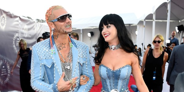 Katy Perry And Riff Raff Channel Britney Spears Justin Timberlake 2014 Mtv Vmas