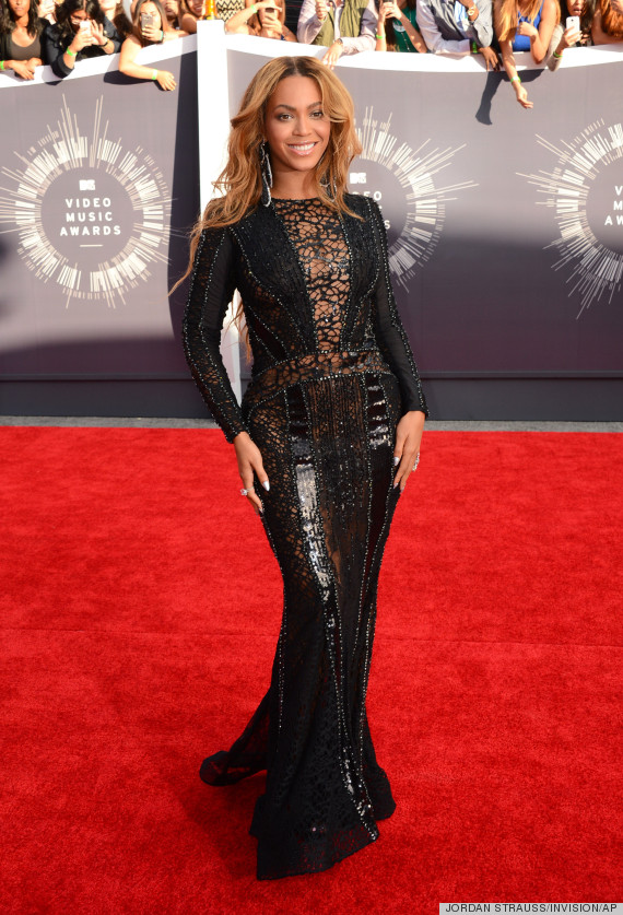 beyonce vmas red carpet