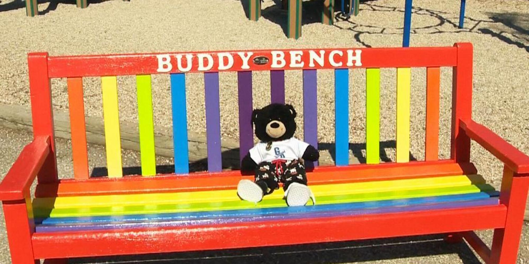 Buddy Bench Debuted At Winnipegs Gray Academy Of Jewish