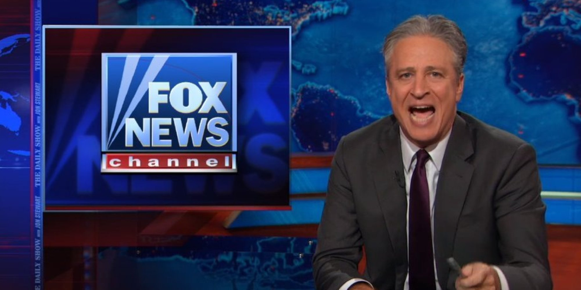 Jon Stewart Tells Fox News Fuck You And All Your False