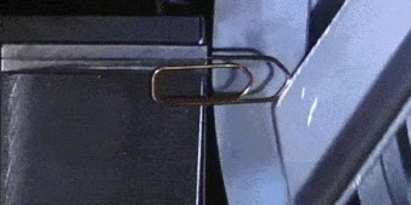 Knew Paper Clips In Mesmerizing