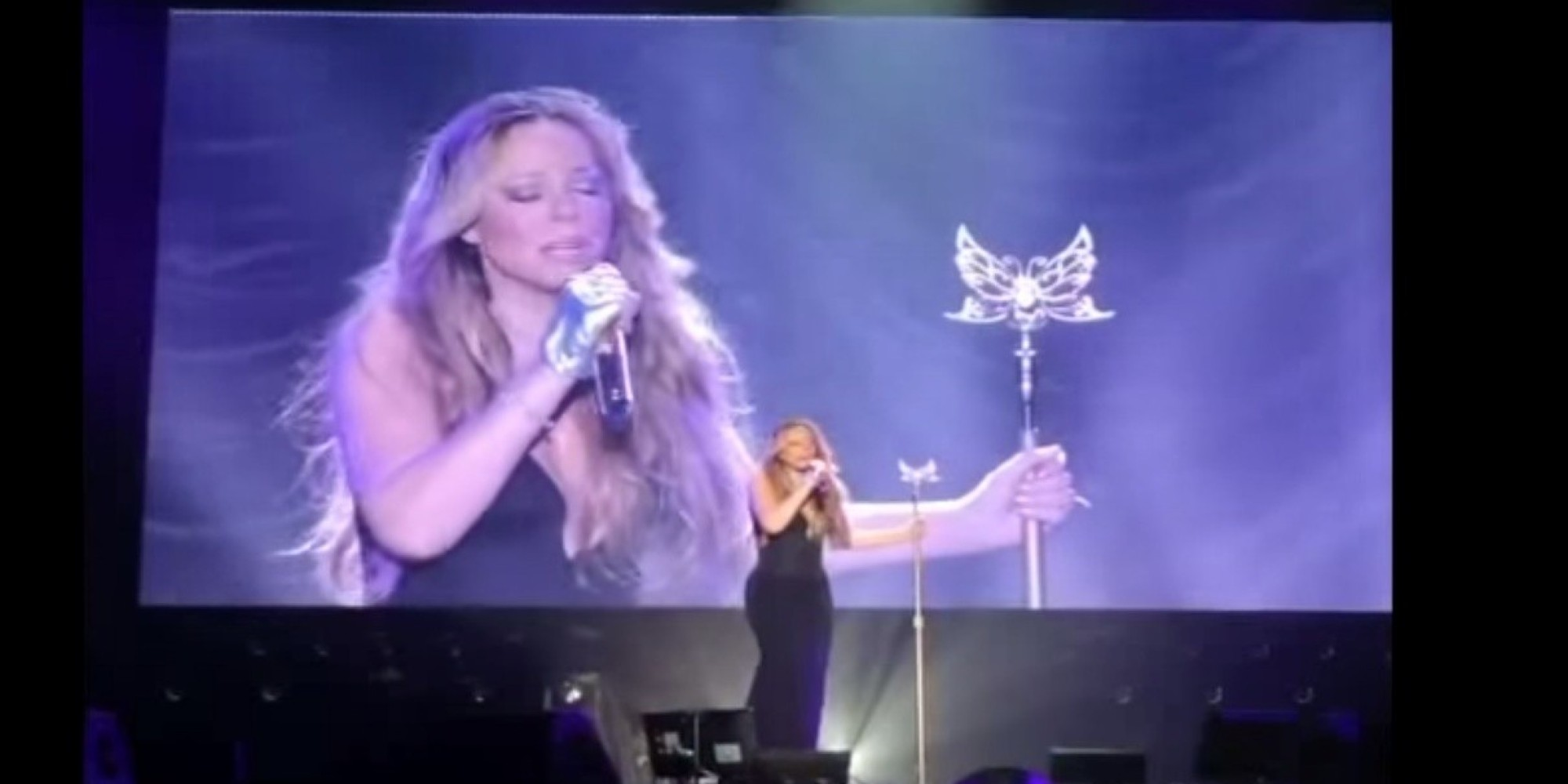Mariah Carey Struggles With Her Voice In Tokyo Concert  HuffPost