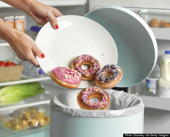 trash donuts