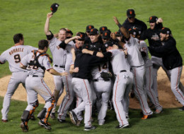Giants World Series Champions 2010