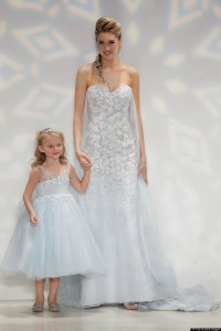'Frozen' Elsa Wedding Dress Is Perfect For A Princess Bride