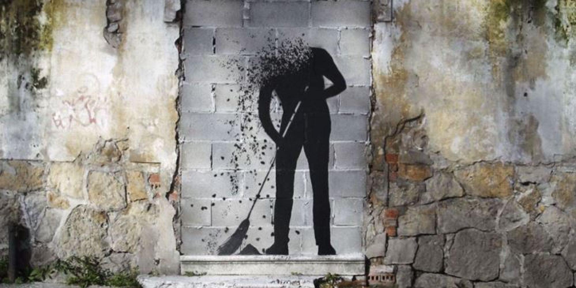 Les gifs de street art de lEspagnol AL Crego donnent vie aux oeuvres