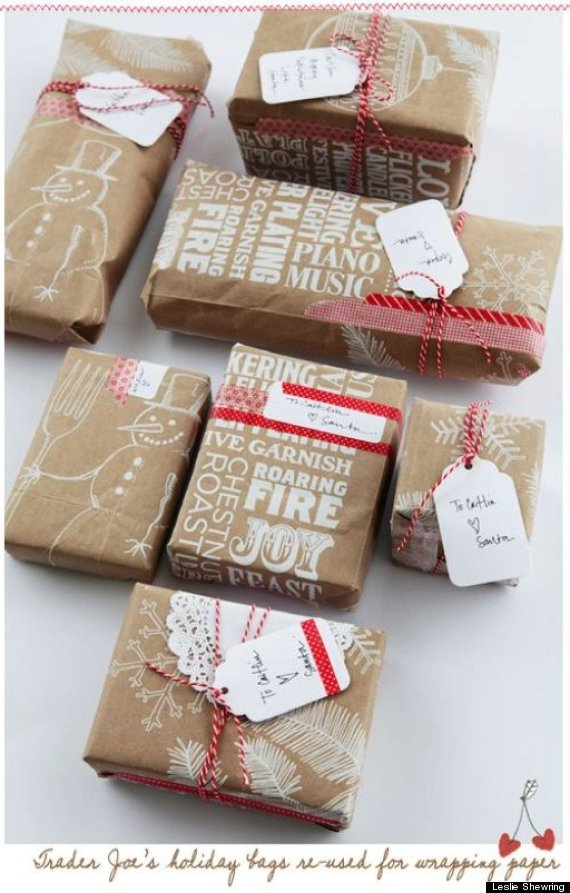 grocery gift wrap