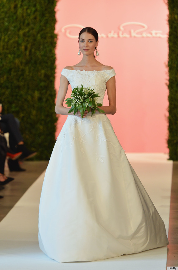 Oscar De La Rentas Wedding Dress Legacy Will Never Be
