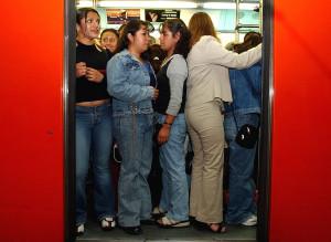 Mexico City Train Women