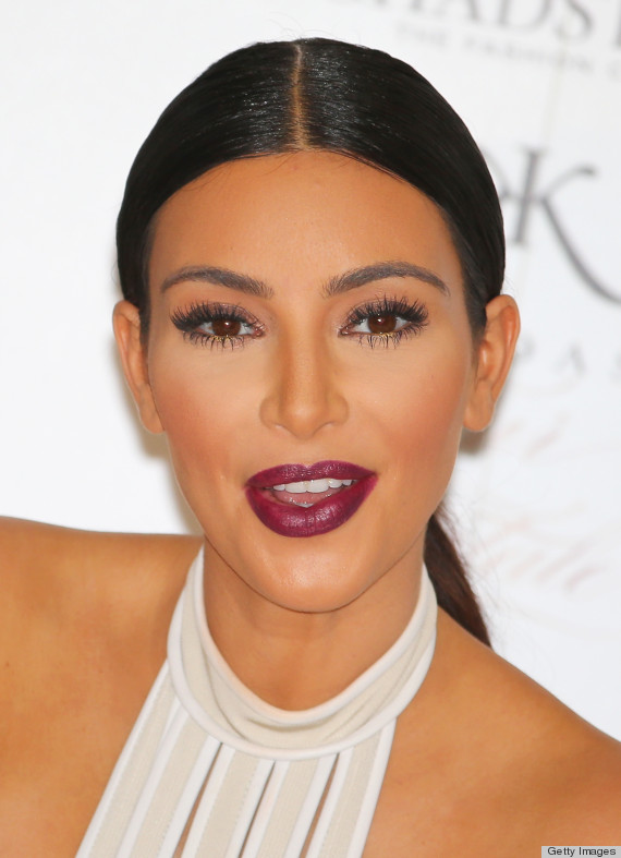 what red lipstick does kim kardashian wear