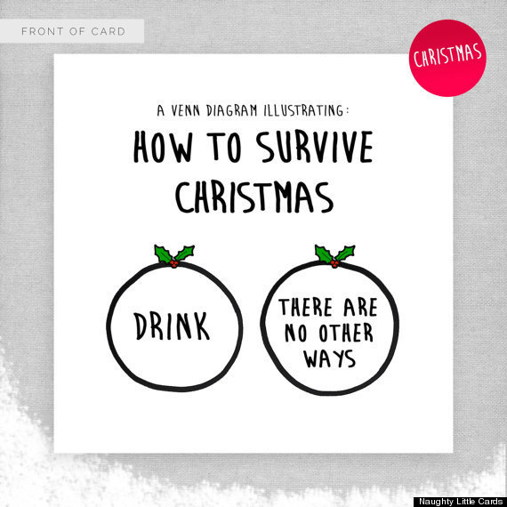 22 clever christmas cards