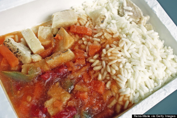 healthy microwave dinner