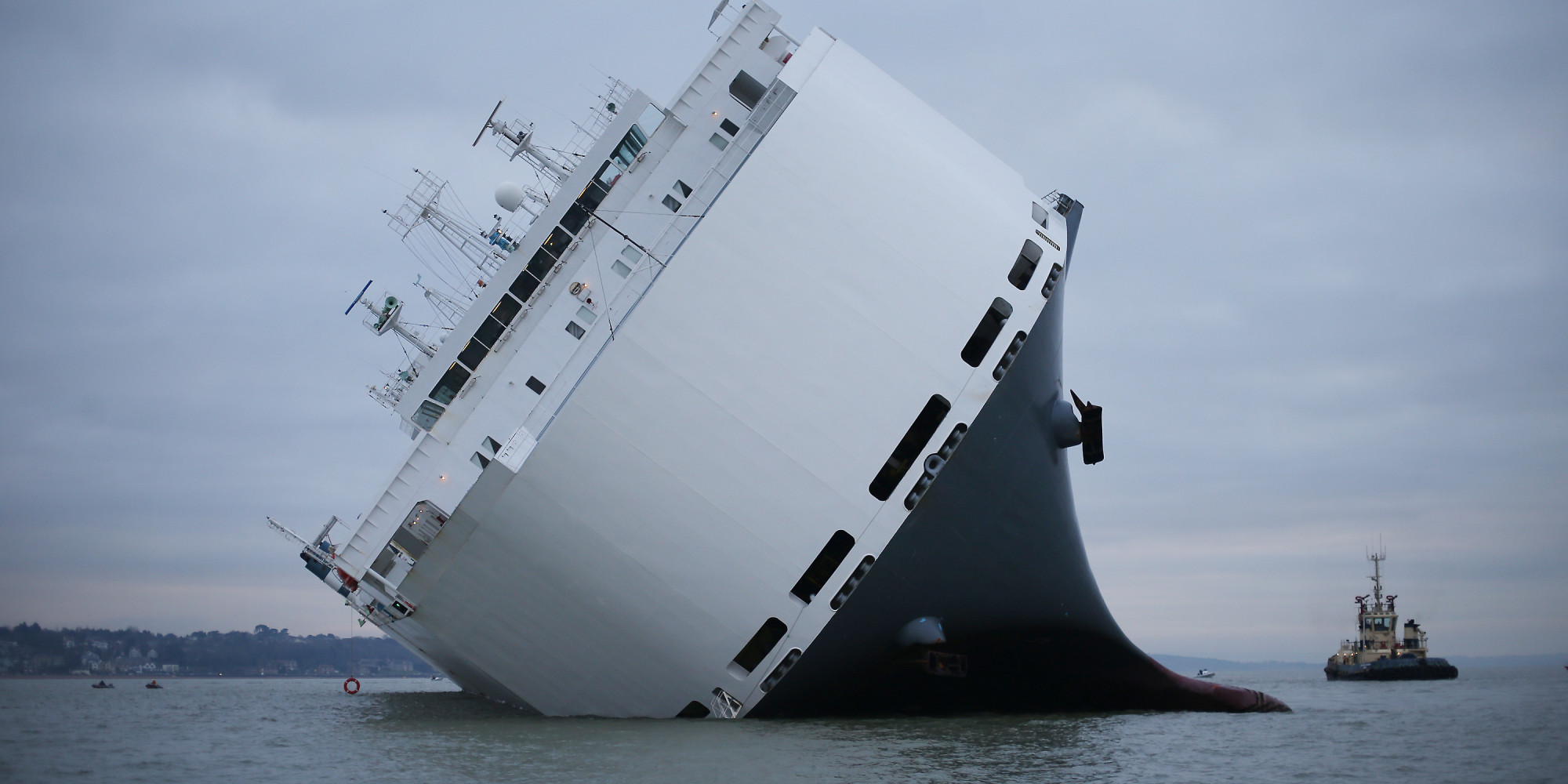 Crew Rescued From Listing Car Carrier Ship Hoegh Osaka