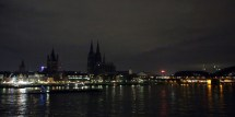 Iconic Lights Germany Protest Anti-islam