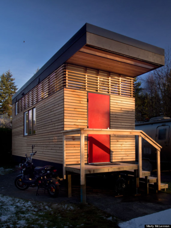 Tiny Home In North Vancouver May Be Small But It S Also