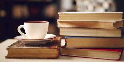 Image result for coffee and books images