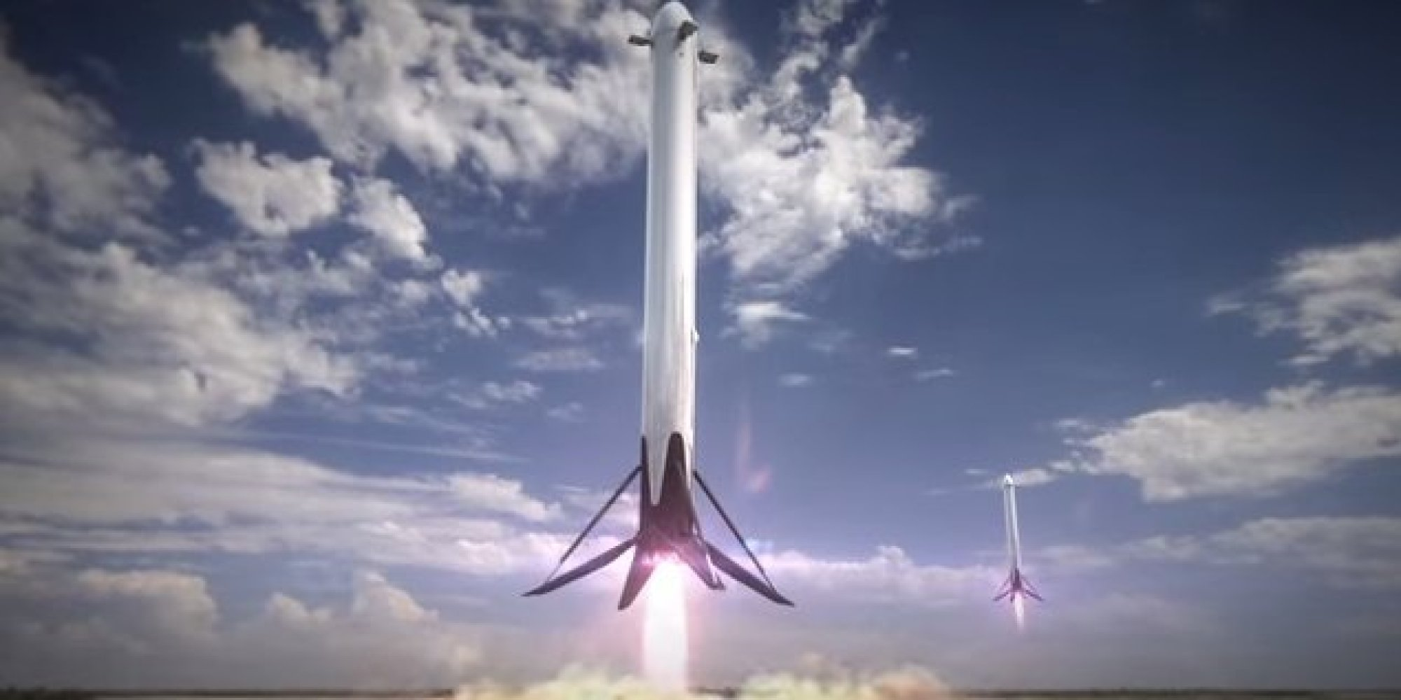 Image result for space x reusable rockets