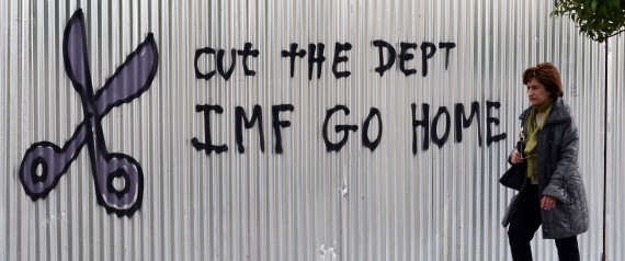 IMF GET OUT GREECE