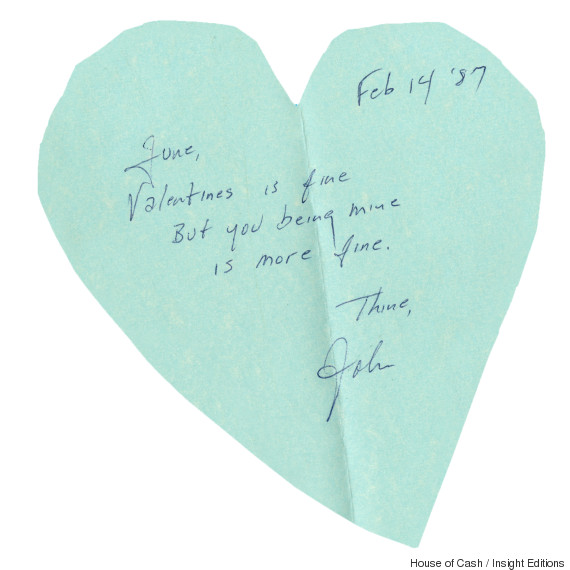 Johnny Cash's Love Letter To June Carter Cash Is One For