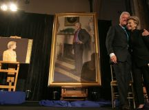 Weird news: Bill Clinton's Portrait Includes A Nod To ...