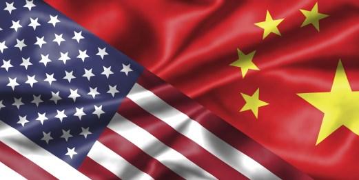 USA CHINA FLAG