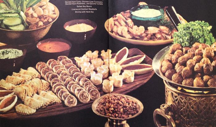 Resultado de imagem para cocktail sausages 1960s