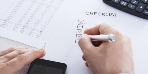 Getting Ready for Taxes Checklist
