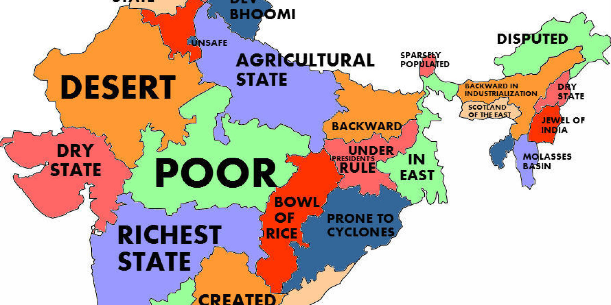 What The World Thinks Of Indian States According To