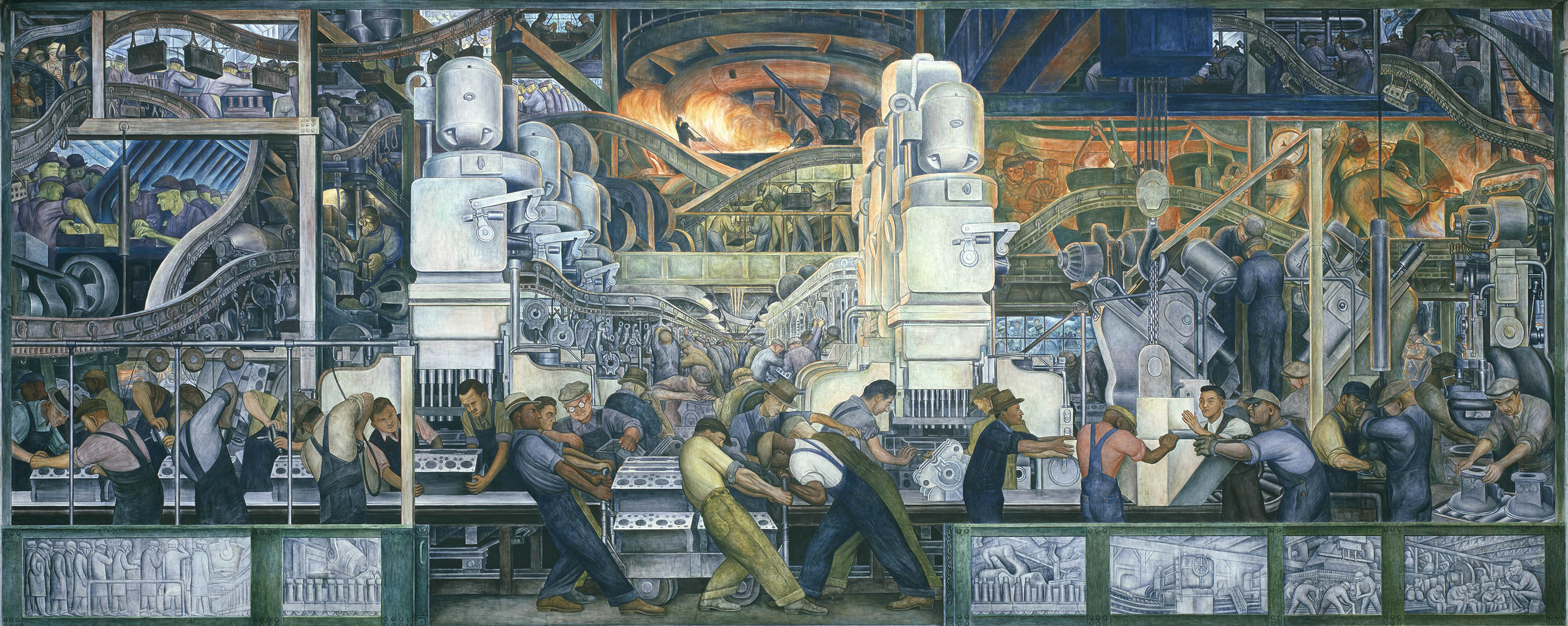 A Rare Look At How Diego Rivera Turned Sketches Into His